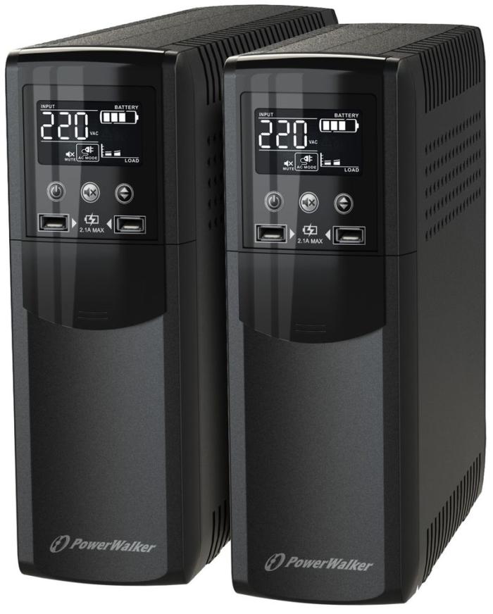 PowerWalker VI CSW – funkcjonalne i kompaktowe zasilacze UPS z czystą sinusoidą