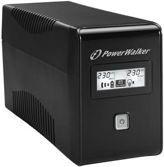 PowerWalker VI 650 LCD FR – kompaktowy bohater