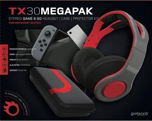 Gioteck TX30 Megapak PS4 – zestaw słuchawkowy dla graczy już dostępny w Polsce